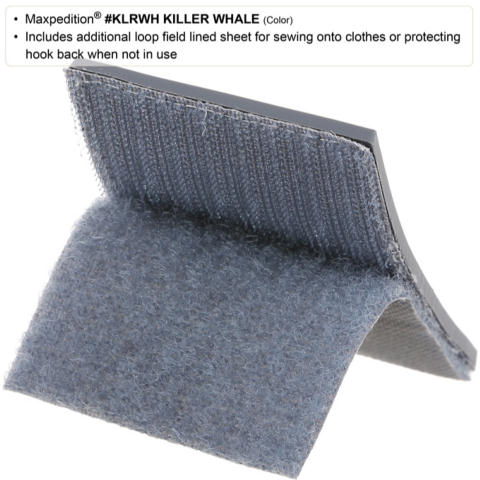 Maxpedition Killer Whale Patch