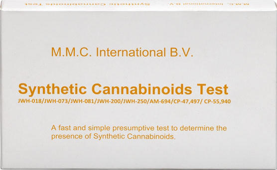 MMC America Synthetic Cannabinoids Test (K2, Spice) - 10 Ampoules per box