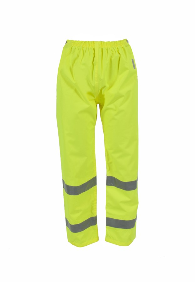 Neese Rainwear Air Tex High Visibility Trousers - Hi-Viz - Larger Sizes