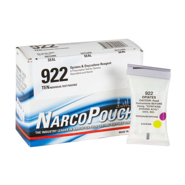 ODV NarcoPouch Individual Test - ODV 922: Opiates Reagent - Opiates, Oxycodone and Heroin