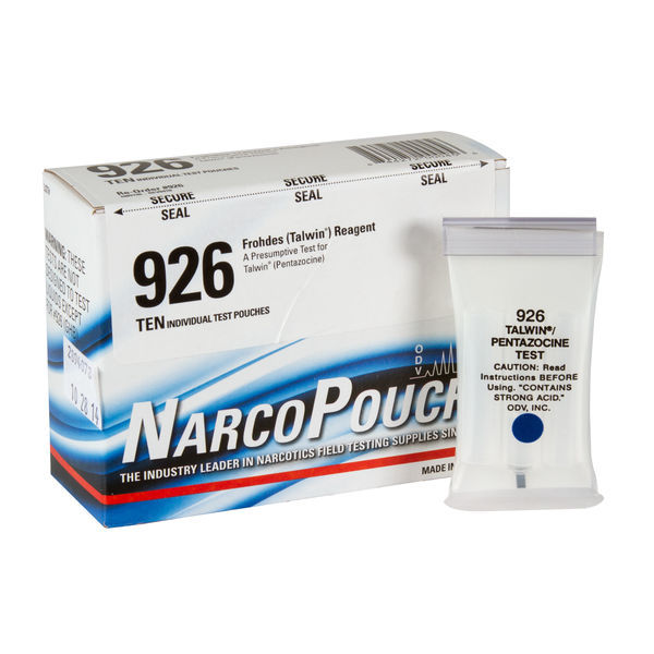 ODV NarcoPouch Individual Test - ODV 926: Frohdes Reagent - Pentazocine - Talwin