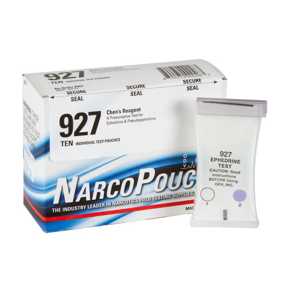 ODV NarcoPouch Individual Test - ODV 927: Chen's Reagent - Ephedrine and Pseudoephedrine