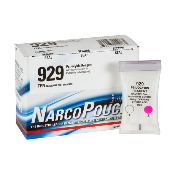 ODV NarcoPouch Individual Test - ODV 929: Psilocybin Reagent - Magic Mushrooms