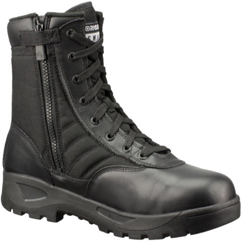 Original SWAT Classic 9-inch SZ Safety Plus Boots, Men's - Black