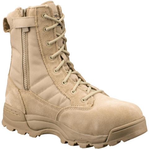Original SWAT Classic 9-inch SZ Safety Toe Boots, Men's - Tan