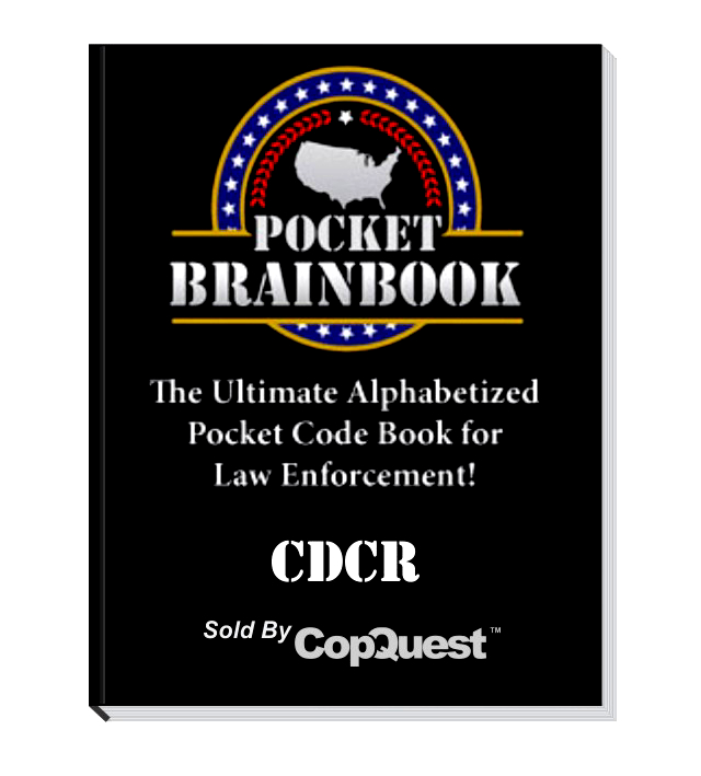 Pocket Brainbook - CDCR Title 15
