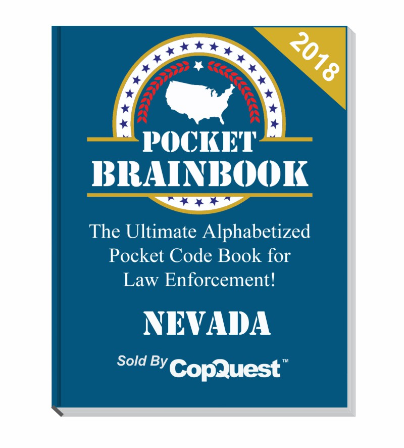 Pocket Brainbook - Nevada Law Enforcement Edition - 2018