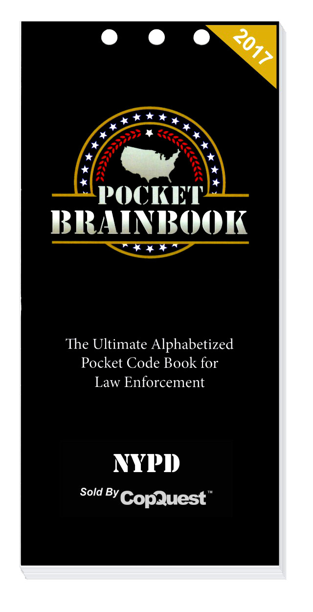 Pocket Brainbook - NYPD Law Enforcement Edition