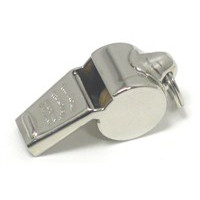 Police Whistle - Nickel Plated Brass