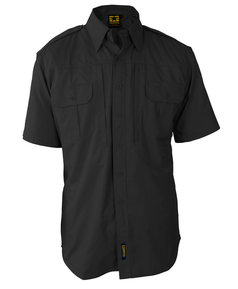 Propper Lightweight Tactical Dress S/S Shirt, 65/35 Poly/Cotton Ripstop