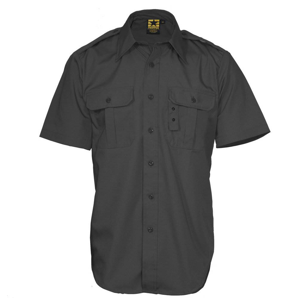 Propper Tactical Dress S/S Shirt, Battle Rip 65/35 Poly/Cotton Ripstop