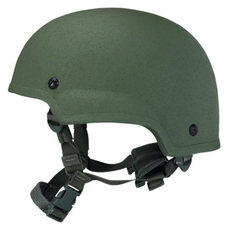 ProTech Delta 4 Mid-Cut Tactical Helmet w/Team Wendy CAM Fit & EPIC Air