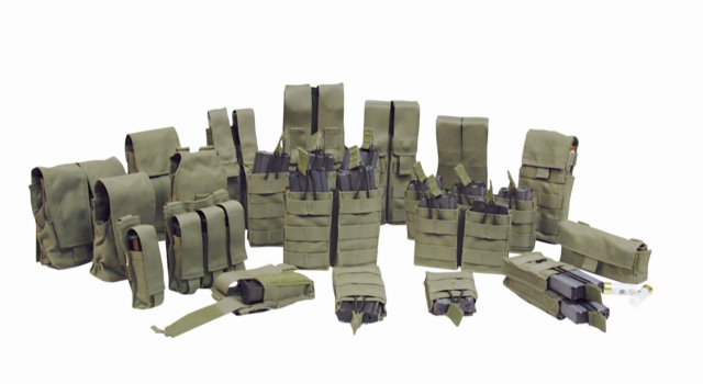 ProTech TP-TP4A Double Staggered M4 Magazine Pouch