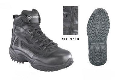 f40a4f3e29a Reebok RB8678 Tactical Rapid Response 6-inch Side Zip Boots, Men's ...