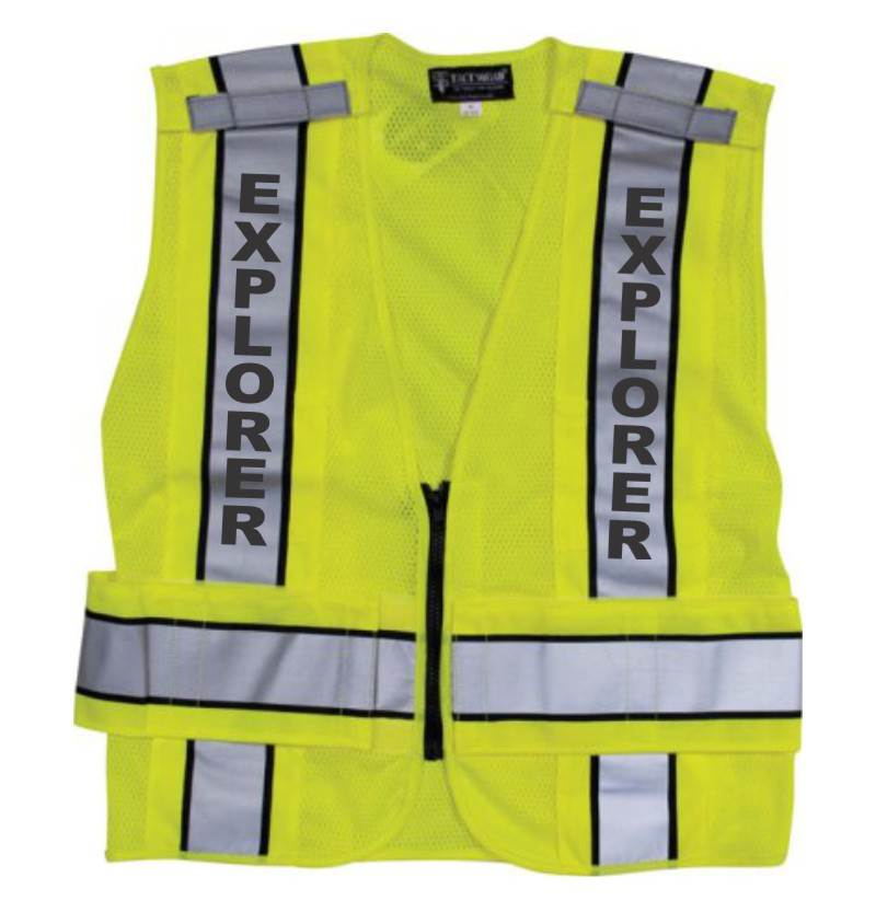 Explorer Traffic Safety Vest Ansi 207 2006 Compliant