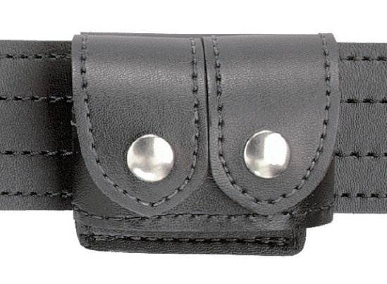 SAFARILAND G87 Speedloader Holder Pouch Holster Split Six 371-1-C Tan Leather