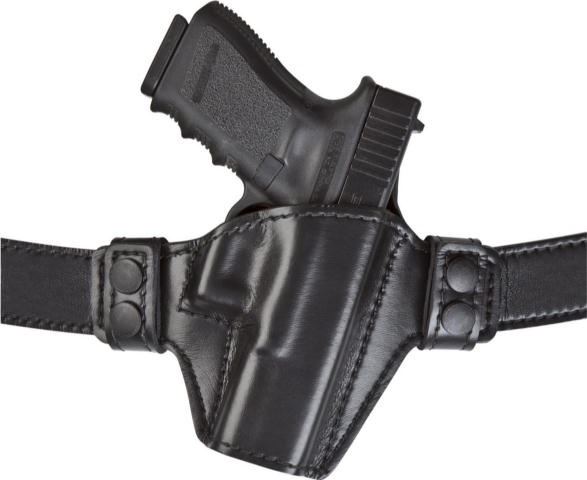 Safariland 529 Open Top w/Dual Snap Belt Holster