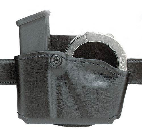 Safariland 573 Open Top Magazine & Handcuff Pouch, Paddle