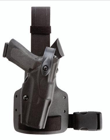 Safariland 6004 Tactical Holster - Single Leg Strap - Tac Light