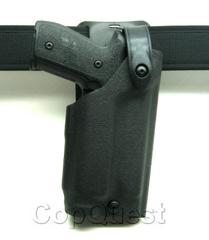 Safariland 6285 Level II Low-Ride Duty Holster -Tac Light - STX Finish