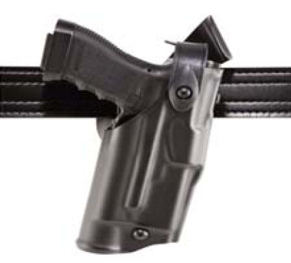 Safariland 6360 ALS Level III Mid-Ride Duty Holster - Tac Light