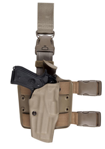Safariland 6385 OMV Tactical Holster - Tac Light - STX Finish