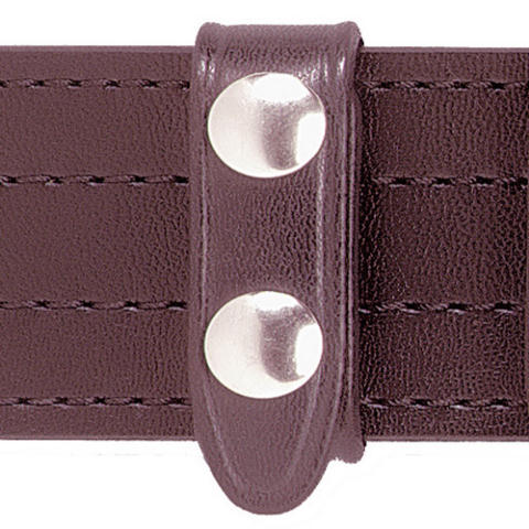 Safariland 65 Belt Keeper - 3/4-inch wide - 4-Pack - Cordovan