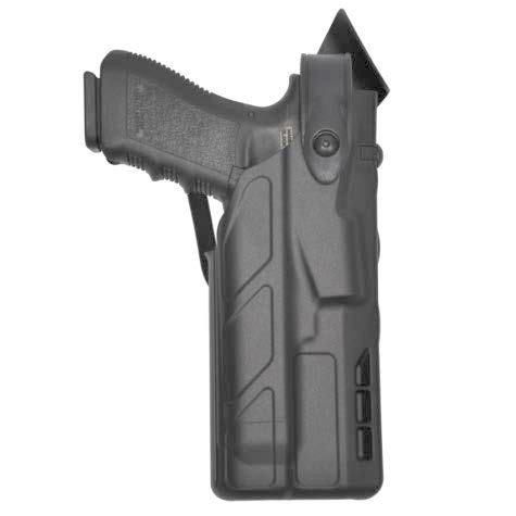 Safariland 7TS 7280 SLS Level II Mid-Ride Duty Holster - Tac Light - Basketweave