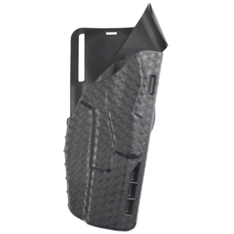 Safariland 7TS 7395 ALS Level I Low-Ride Duty Holster - Basketweave