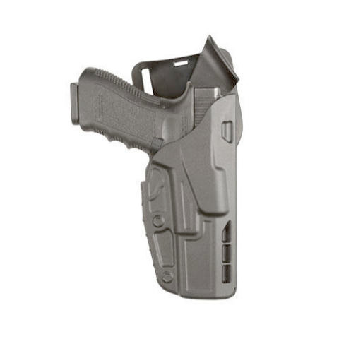 Safariland 7TS 7395 ALS Level I Low-Ride Duty Holster - Tac Light - Basketweave