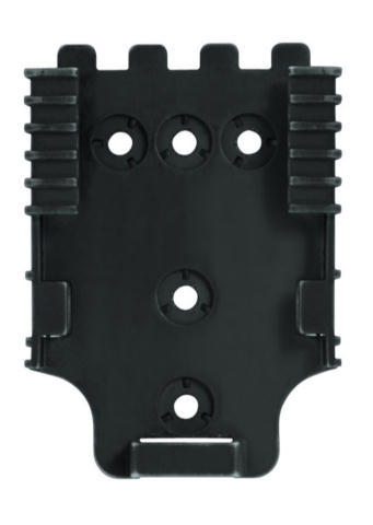 Safariland QLS 22L Duty Receiver Plate - Locking Feature