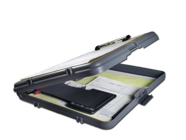 Saunders WorkMate Portable DeskTops - Side Opening /Single Storage / Plastic - Letter size