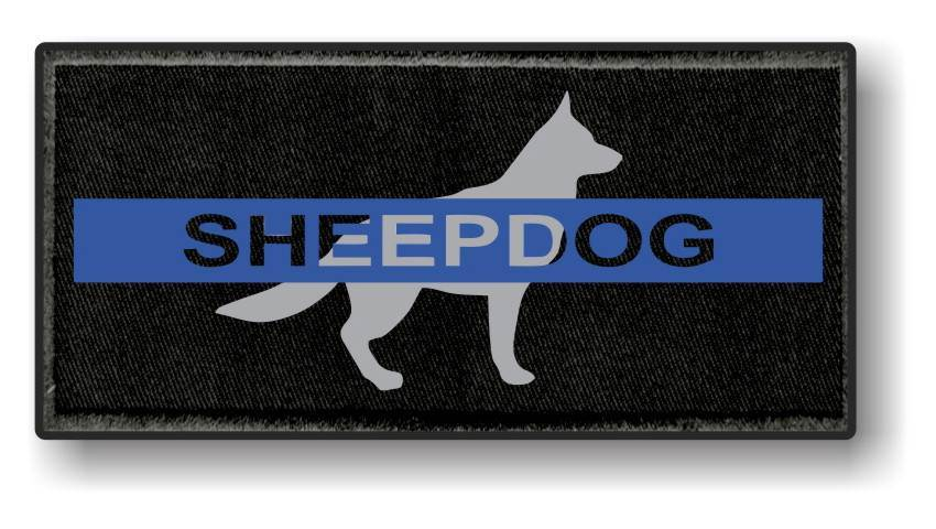Sheepdog Morale Patch - Thin Blue Line