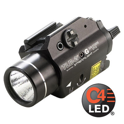 Streamlight TLR-2 G Weapon Light/Green Laser - 300 Lumens