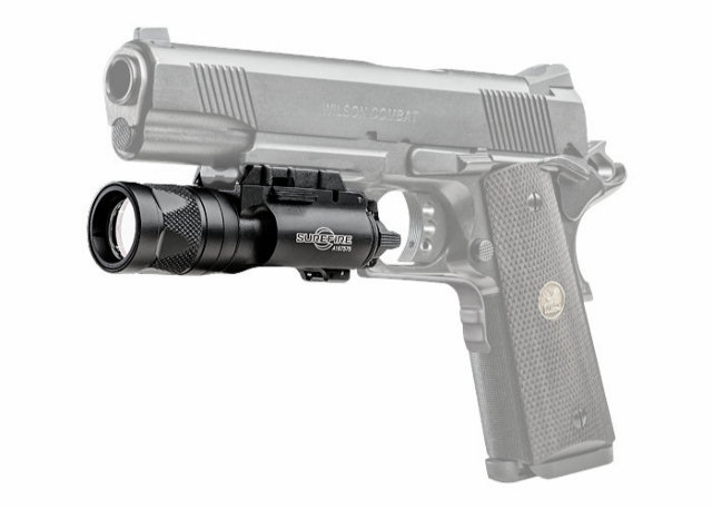 SureFire X300V LED / IR Laser WeaponLight - 350 Lumens - Black