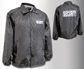 Men's Flannel Lined Windbreaker - Security