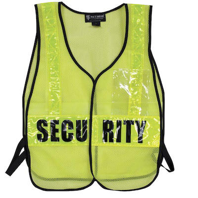 Tact Squad Security Safety Vest
