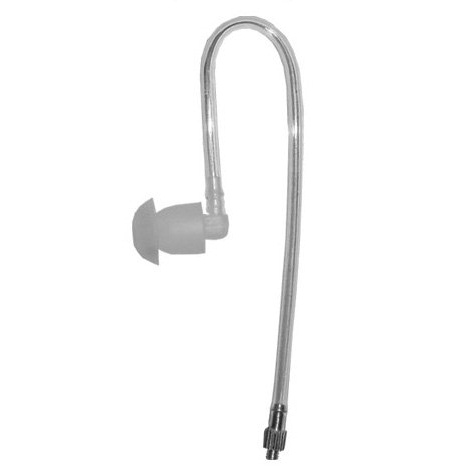 Tactical Ear Gadgets Short Acoustic Audio Tube - Clear