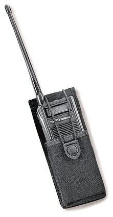 Uncle Mike's Kodra Nylon Fitted Handheld Radio Case with Insert