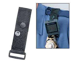 Uncle Mike's Kodra Nylon Web Remote Microphone Carrier for Epaulet