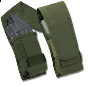 Uncle Mike's M4 / M16 Double Magazine Pouch - Black