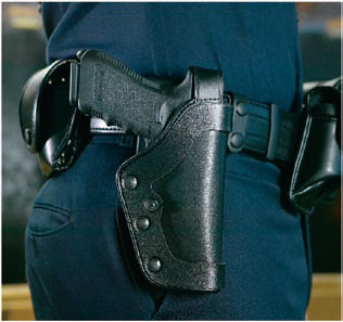 Uncle Mike's PRO-3 SlimLine Triple Retention Duty Holster