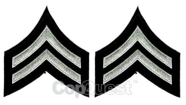 Uniform Chevrons - LAPD - Pair - Police Officer III