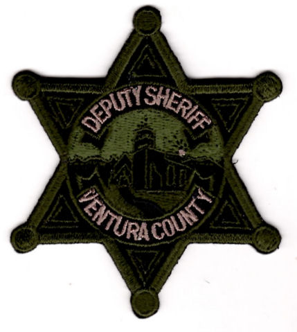 Ventura County Sheriff's Office - Subdued Star Badge Patch