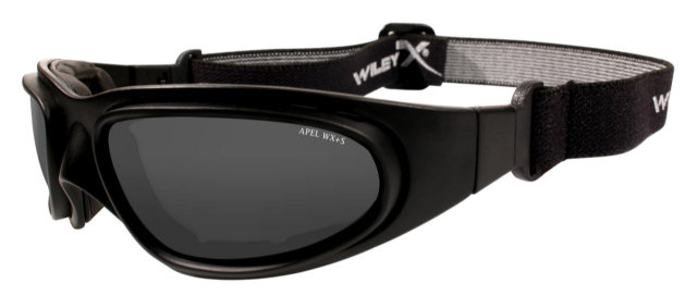 Wiley X SG-1 Interchangeable Asian Fit - Smoke Grey / Clear Lenses