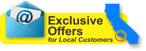 Click to join our local e-mail list for exclusive offers