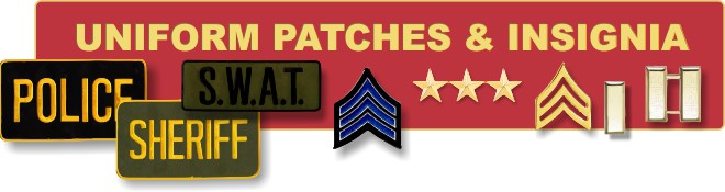 Supplier of public safety patches and insignia
